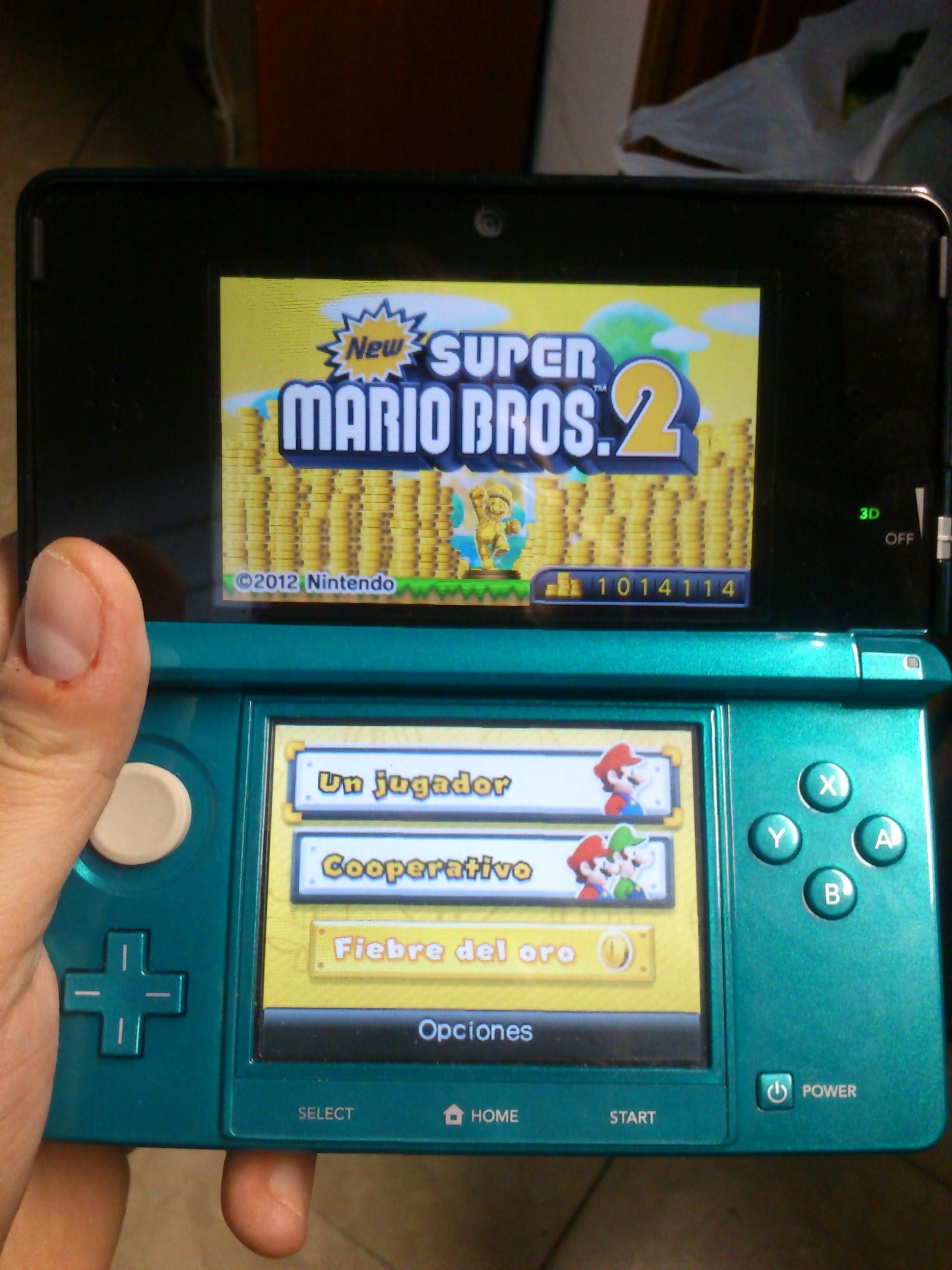1.000.000 de monedes al New Super Mario Bros 2